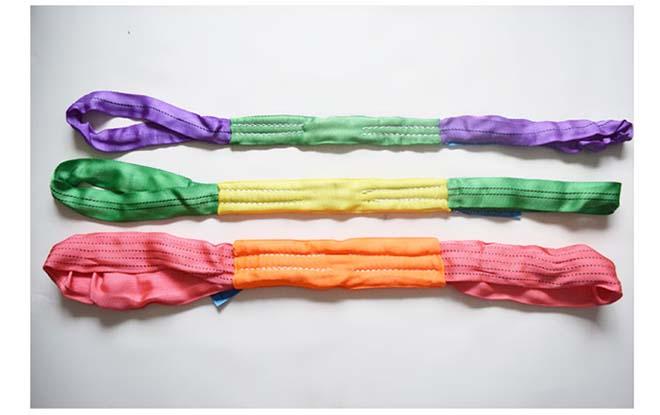 1吨涤纶双头柔性吊装带实物摄影.jpg