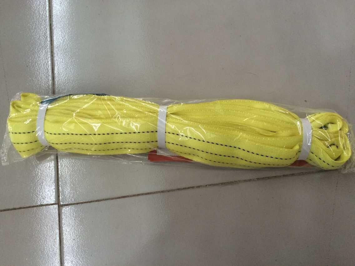 吊装带使用案例之钢拉杆施工